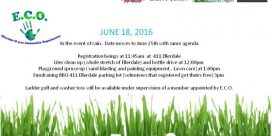 Ellerdale & Area Community Clean-Up & BBQ