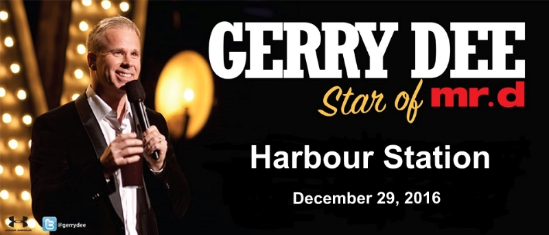 Gerry Dee at Saint John's Harbour Station on December 29th, 2016.