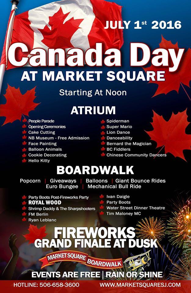Saint John celebrates Canada Day