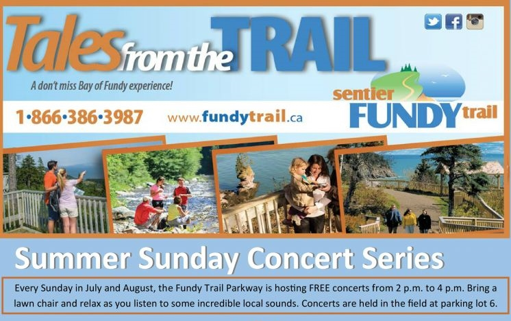 Fundy Trail Summer Concert Series