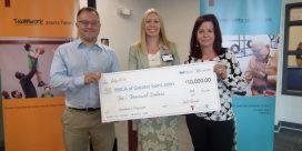 Bell Aliant gives $10 K to YMCA Kids Program