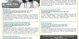 Canadian Mental Health Fall Education Programs