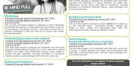 Canadian Mental Health Fall Education Programs