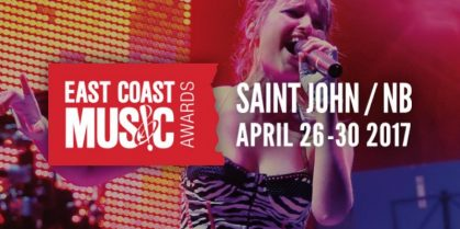 JAMES MULLINGER HOSTS THE 2017 EAST COAST MUSIC AWARDS SHOW