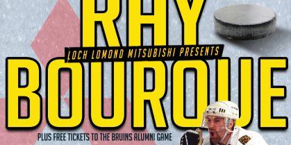 NHL LEGEND RAY BOURQUE COMING TO SAINT JOHN