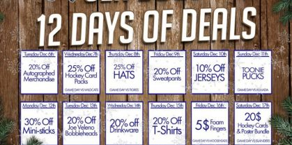 Sea Dogs 12 Days of Deals