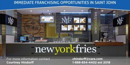 Franchising Opportunities in Saint John
