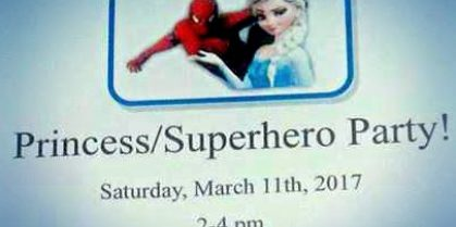 Princess / Superhero Party at the Saint John Boys and Girls Club