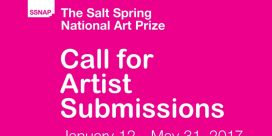 Call for Artist Submissions $30,000 in Awards – The Salt Spring National Art Prize