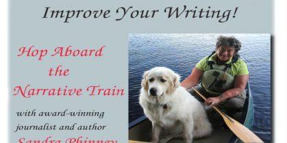 Narrative Writing Worshop at Saint John Free Public Library