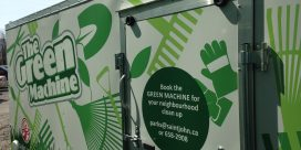 Book the Green Machine Today for Your Neighbourhood Clean-Up