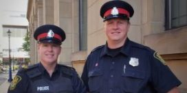 Uptown Mug #74 . Sgt. David Hartley-Brown and Cst. Duane Squires