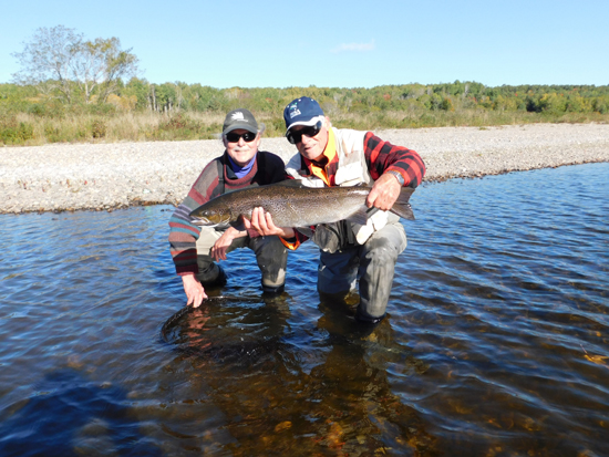 Miramichi Fishing Report for Thursday, October 12, 2017