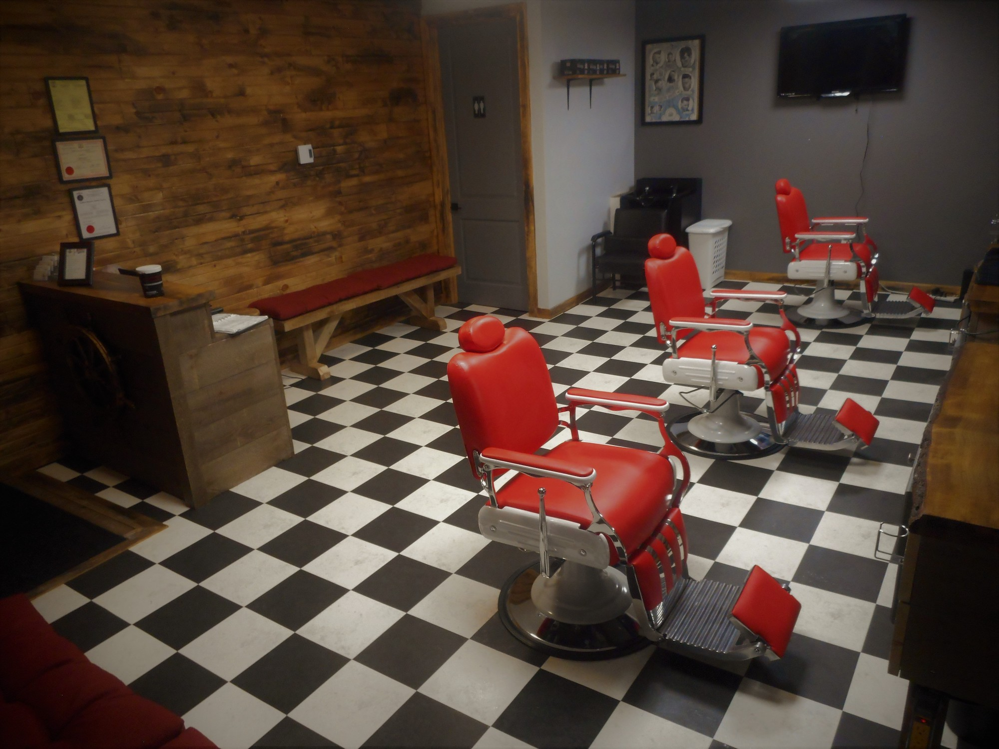 Old School Barber at New Location, Union Street. Welcome to Maritime Cuts Barbers