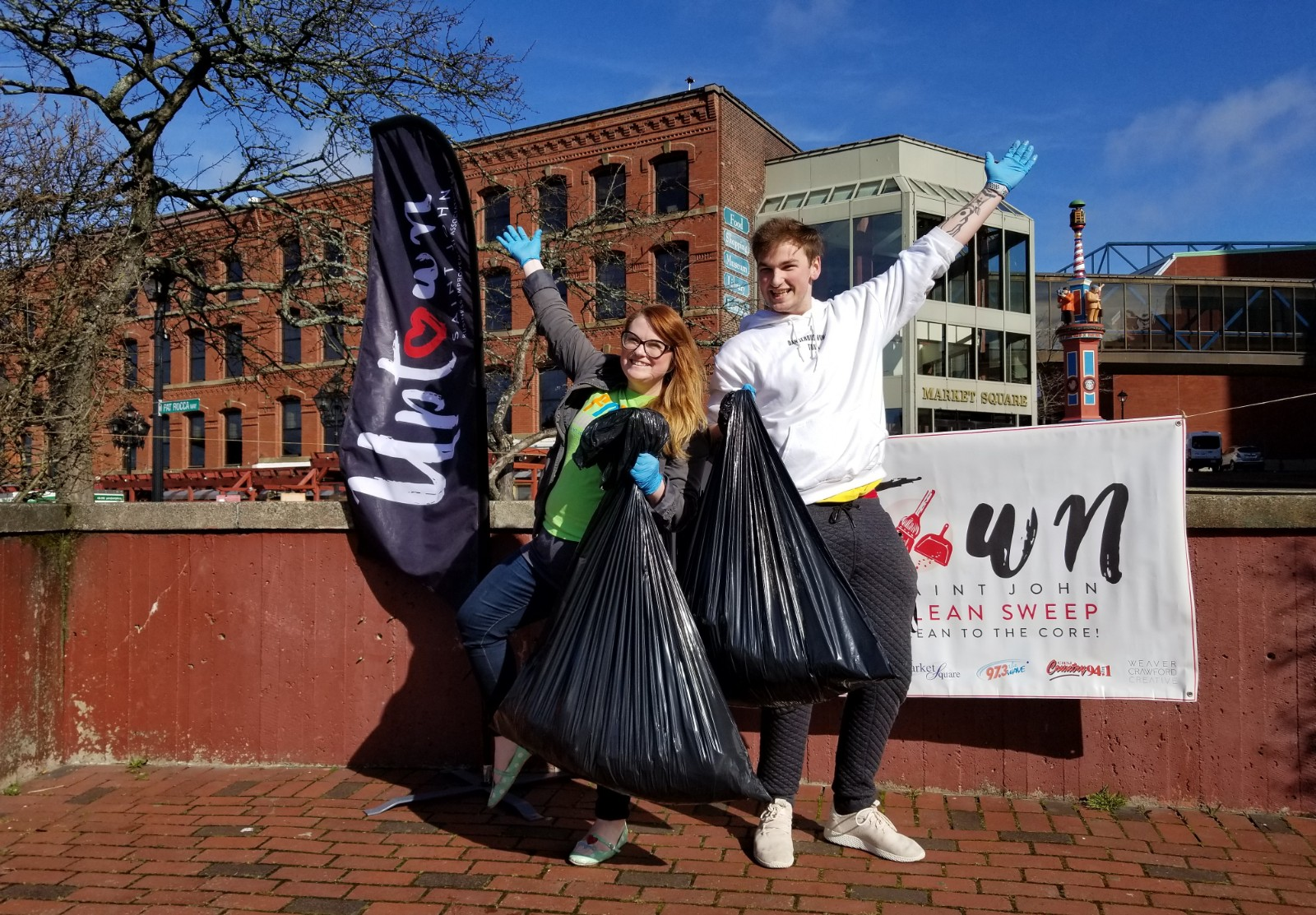 Uptown Clean Sweep 2018 – What A Great Clean Up Event!