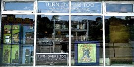 TURN-OVERS TOO, TREASURE & CONSIGNMENT SHOPPE OPENS UPTOWN