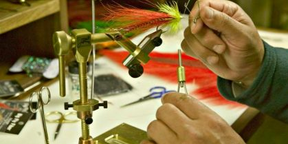 Fly Tying Classes at the Hammond River Angling Association