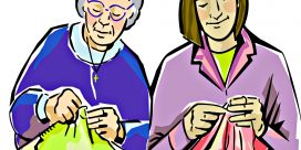 Holy Spirit Rectory Hall Wednesday Prayer Shawl Ministry Group