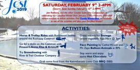 Winterfest Family Day In Rothesay – Saturday, February 9th, 2019 (Storm Date Sunday, February 10th, 2019)
