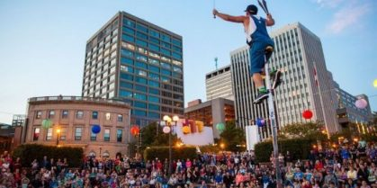 Buskers on the Bay Festival  July 17 – July 21