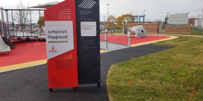 New Jumpstart Playground in Rainbow Park Now Opened