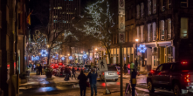 Saint John Energy and Uptown Saint John Inc. – A Partnership to Create Uptown Holiday Lighting