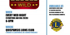 DEUCES WILD Quispamsis Lions Club