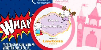 Saint John Princess and Superhero Party 2020