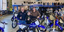 Dustin Burbridge & Motosport Plus Partnership