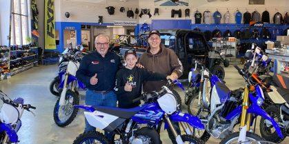 Dustin Burbridge & Motosport Plus Partnership