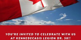 Canada Day BBQ Public · Hosted by Kennebecasis Legion Branch 058