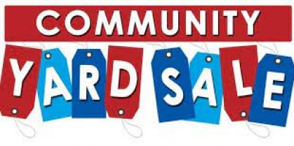 Red Head Community Yard Sale July 18th