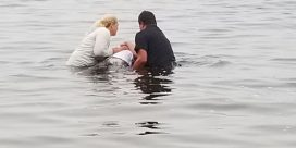 Baptism In The Kennebecasis River