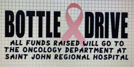 Kindling Man Bottle Drive  For The Oncology Dept SJRH Nov.14th