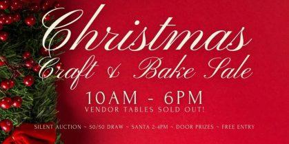 First Steps Christmas Craft & Bake Sale