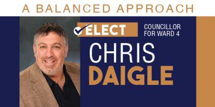 Chris Daigle For Ward 4