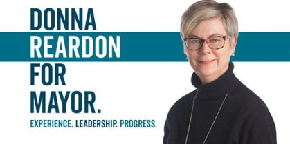 Donna Reardon  Running For Mayor In Saint John