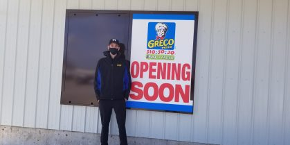 Greco To Open On Hickey Road