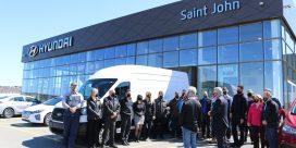Saint John Hyundai Donates  A Van To The Joshua Group