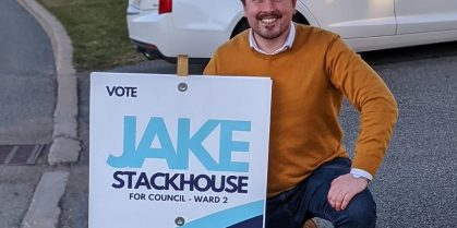 Jake Stackhouse Running For Council In Ward 2