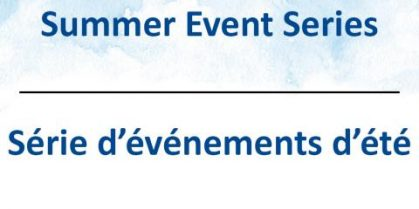 You'reinvited to the City of Saint John Summer Event Series