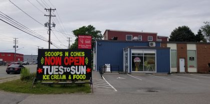 Scoops n Cones Now Open On Bayside Dr