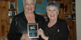 Saint John Sea Belles' Member Recognised as Barbershopper of the Year