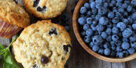 Recipe: Blueberry Oatmeal Muffins