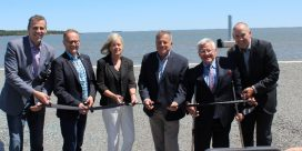 Completion of Spruce Lake Barge Facility Celebrated