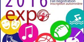2016 Saint John Fall Registration Expo