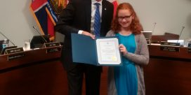 Local Champ Recognized by Mayor
