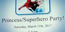 Princess / Superhero Party at the Saint John Boys and Girls Club