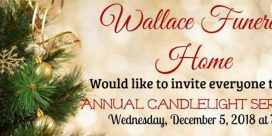 Annual Candlelight Service at Wallace Funeral Home
