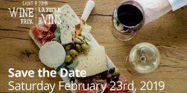 17th Annual Saint John Wine Fair – February 23rd, 2019
